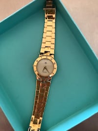 Gucci women's watch gold plated