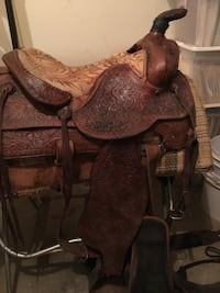 Horse Saddle and Reigns, Ropes, Etc. - Collectible Lincoln, 67455