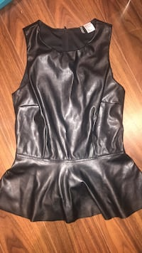 Divided leather shirt never worn size 2  Brampton, L7A 2W5