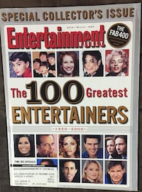 The 100 Greatest Entertainers 1950-2000 Entertainment Weekly Lebanon