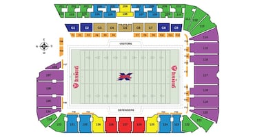 DC Defenders XFL tickets - 2 games ($50 per game)