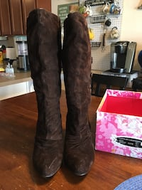 Suede Leather brown Boot Fort Knox, 40121