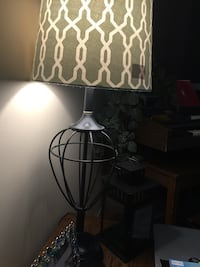 black and white table lamp Montréal, H4G 2A8