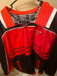Rare Chicago Bulls Reversible Warmup Jacket XL