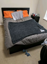 Queen Sizes bed and frame! Denton, 76207