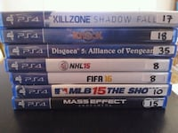 PS4 games for sale individually  Vaughan, L4L
