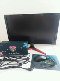 144hz Acer Monitor, Ducky One 2 Mini, Razer Deathadder Elite with Pad Annandale, 22003