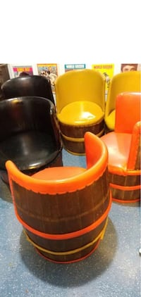 Vintage barrel chairs  , L2H 0T3