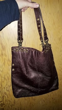 Hobo Brown Leather Purse