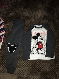 black and white Mickey Mouse-printed shirt Frederick, 21702