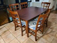 Dining room table with 8 chairs and a China cabinet Gaithersburg