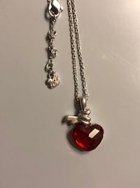 Authentic Swarovski Crystal Heart Necklace TORONTO
