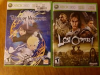 two Xbox 360 game cases North York, M2H