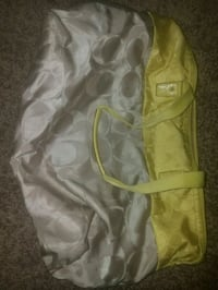pair of yellow leather gloves 1952 mi