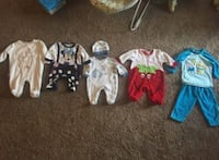 Baby girls clothes for winter 0-3 m Temple Hills, 20748