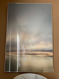 Large Metal/Glass Picture