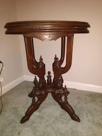 One of a kind antique side table with marble top Catonsville, 21228
