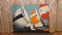 Large Sailboat Canvas type Picture Des Moines
