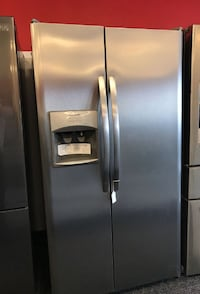 Frigidaire Side by Side stainless steel refrigerator Orlando