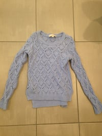 Loft's Lavender Knitted Sweater Santa Ana, 92703