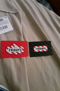 Fridays gift cards