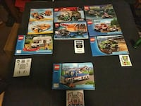 Lego lot, comes with all pieces & figurines District Heights, 20747