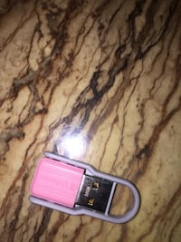 Pink and gray USB 48 km