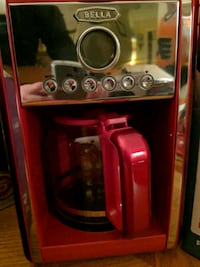 red and gray Bella coffeemaker Niagara-on-the-Lake, L0S 1J0