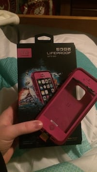 Pink lifeproof smartphone case with box Woodstock, 30188