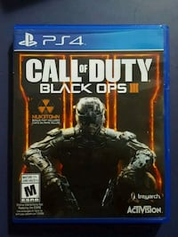 Call of Duty Black Ops 3 PS4 game case Niagara Falls, L2G 2J2