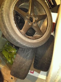 """16""""s rims with Tires for sale Brampton, L6T"""
