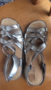 Summer shoes sandals size 38 brand new leather