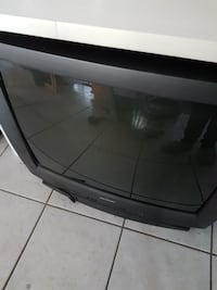 black wooden framed glass cabinet Edmonton