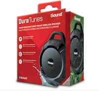DURATUNES Wireless Speaker (Water Resistant/DropProof) by iSound -NEW!