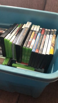assorted Xbox 360 game cases Vancouver, V6B 0J1