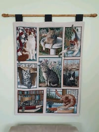 CAT TAPESTRY  Whitby, L1N