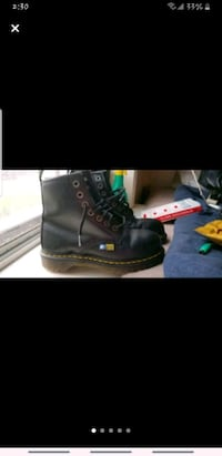 Dr Martens Industrial Steel toe boots(US Mens Size Toronto, M6P 1W6