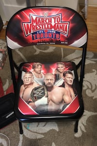 March to WrestleMania Chair Toronto, M6G 1P3