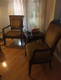 Set if 2 accent chairs. Table not included  Toronto, M8X 2L2