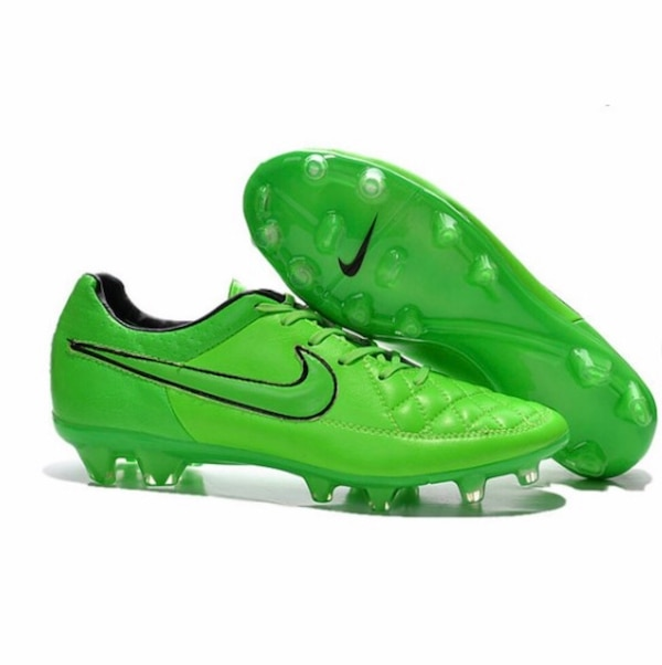 583d49691dd Used Nike Tiempo Legend V FG Kangaroo Leather Soccer Cleats Green for sale  in Atlanta