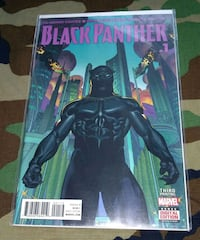 Marvel Black Panther Third Printing Issue #1 Chicago, 60629