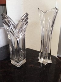 Waterford and Mikasa Crystal Vases Temple, 76502
