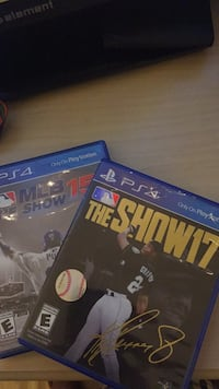MLB show 15  and 17 Tampa, 33617