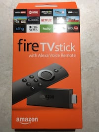 Brand New Amazon Fire TV Stick With Kodi and Apps  Fully Installed with KODI 17.6 and Apps.