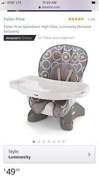Fisher Price Space Saver HighChair Bloomfield, 07003