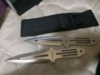 Throwing knives $20 OBO Oxnard, 93036