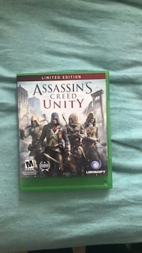 Assassin's Creed Unity Xbox One game case Fairfax, 22031