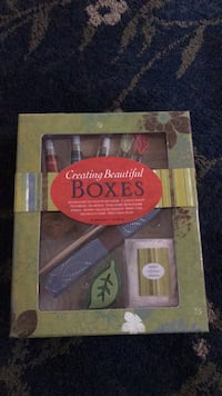 Box making craft set Germantown, 20874