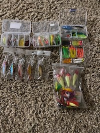 200+ fishing baits Happy Valley, 97086