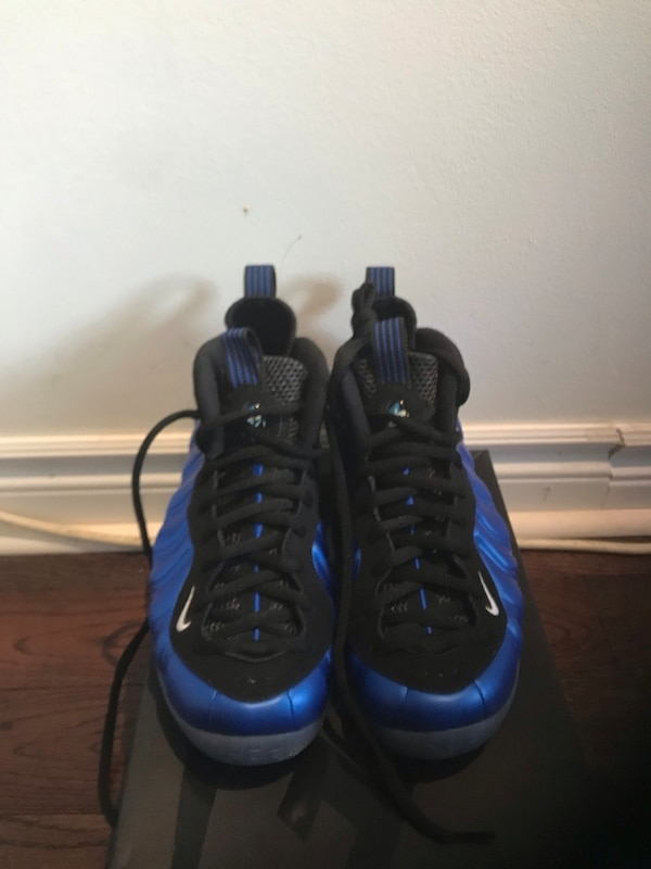 ad0eda9db7388 Used Nike air foamposite one Royal blue for sale in Toronto - letgo